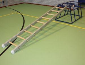 Kleutermateriaal ladder met haken