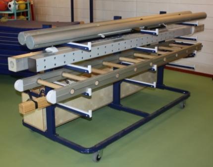 Opbergsysteem combi materiaalwagen