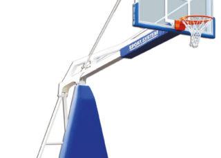 Basketbaltoren verrolbaar