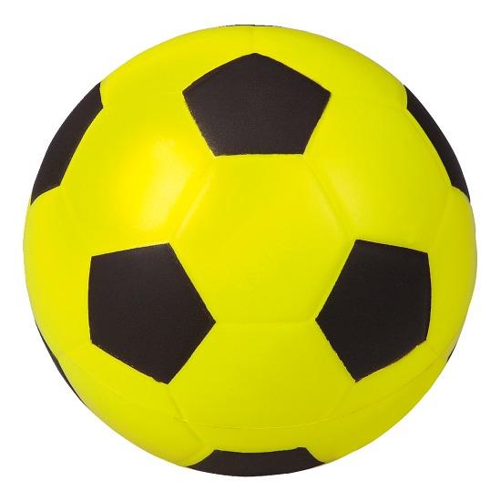 Spelmateriaal foam voetbal