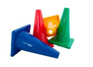 Spelmateriaal kegel rubber mini