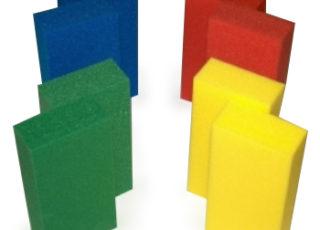 Spelmateriaal spelblok kunststof
