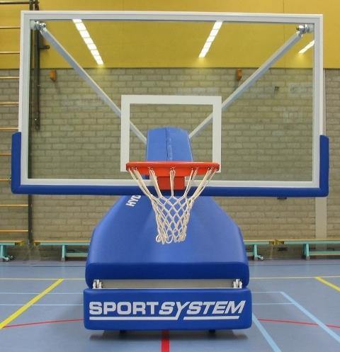 Basketbaltoren verrolbaar s04120