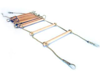 Unitsysteem touwladder